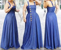 . Maxi Dresses, Bridesmaid Dresses, Formal Dresses, Wedding Dresses, Denim Outfits, Backless, How To Wear, Fashion, Beautiful Clothes
