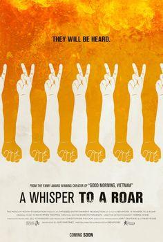A Whisper to a Roar (2012) #design #poster