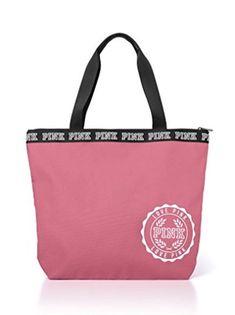a45ef731c Victoria's Secret Pink Tote Bag Garotas Rosa Choque, Bolsas De Lona Rosas, Victoria's  Secret