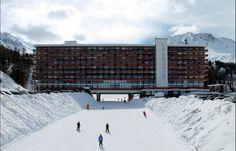 Marcel Breuer 1960 Resort Town Flaine – Master Plan – Haute-Savoie, France – with Herbert Beckhard Marcel Breuer, Snow Skiing, Master Plan, Michel, Far Away, St Louis, Modern Architecture, France, Louvre