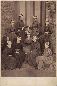 The first Vassar College baseball team, 1866