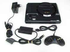 Console Megadrive  [ Presstart ] atari . snes . megadrive . playstation . xbox . ps3 . supernintendo . videogame . soccer . retro . classic . games . personalize . virtual