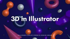Using 3D objects in digital art allows us to add depth and a sense of volume to our work and make it look trendy and exciting! Specialist 3D software is grea...