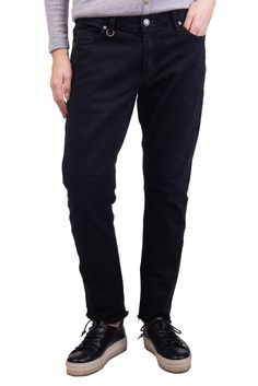 bbbf8c58e05 NEUW Jeans W28 L32 Stretch Black Garment Dye Unfinished Cuffs Zip Fly   fashion  clothing  shoes  accessories  womensclothing  jeans (ebay link)