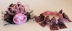DOG COLLARS CUSTOM ... along with the coordinating Ladies Day Out Hat in Pink Giraffe.  Contact Zamora.s@verizon.net for sizing, prices and other information.