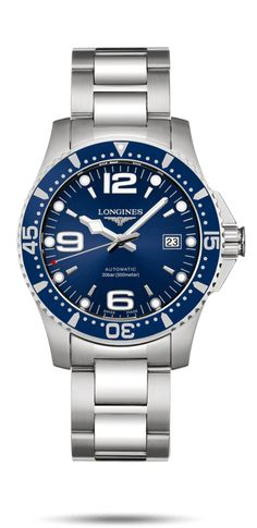 a4b34e4f1da 1070€ - Longines Montre HydroConquest L3.742.4.96.6 Luxury Watches For Men