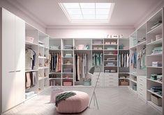 """Ein echter Schrank-Palast ist dieses Exemplar - aus der Linie """"Ecoline"""" von Raumplus. Das Schranksystem ist individuell maßgefertigt und passt daher stets perfekt. Dazu gibt es auf Wunsch einen Kleiderlift. So kann man die Garderobe fast unter die Decke hängen, befördert sie aber zum Aussuchen auf eine bequem erreichbare Höhe."""