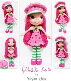Amigurumi Aşkına-Örgü Oyuncaklarım: Amigurumi Çilek Kız- Strawberry Girl