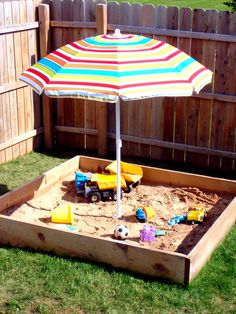 IHeart Organizing: May Featured Space: Outdoors - Sandbox Shade