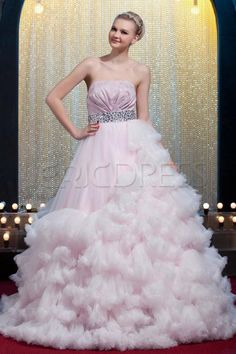 $ 448.99 Charming Ball Gown Strapless Floor-length Yana's Ball Gown Dress Inspired by Taylor Swift