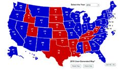 As seen above, Hillary Clinton would dominate Donald Trump on the Electoral College map