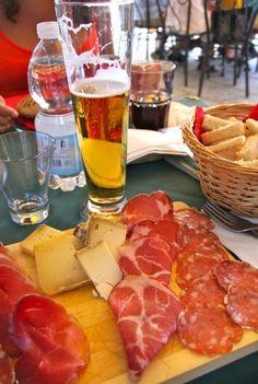 A lunch at Isola Dei Pescatori, Piemonte, Northern Italy