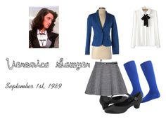 """""""Veronica Sawyer cosplay"""" by lisa-malas on Polyvore featuring Love 21, Capezio, WithChic, musical and Heathers"""
