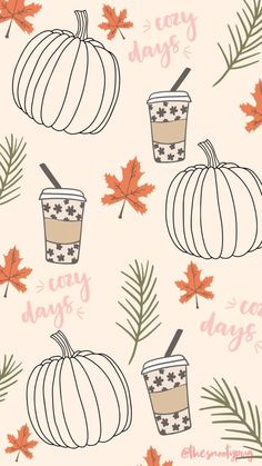 Get 30+ FREE Fall wallpaper to make you feel warm and cozy