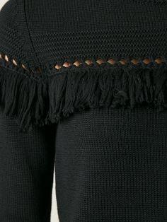 Designer Knitwear & Sweaters For Women Knitwear Fashion, Knit Fashion, Knitting Wool, Hand Knitting, Textiles, How To Purl Knit, Jumpers For Women, Crochet Yarn, Knit Patterns