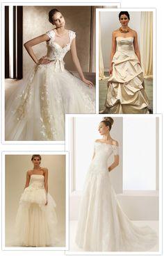 Pretty As A Princess – Classic A-Line Wedding Dresses