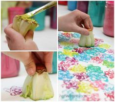 12 easy painting techniques to discover and teach to your kids or grandkids. - Crafts - Tips and Crafts The Joy Of Painting, Painting For Kids, Ideas Geniales, Easy Paintings, Painting Techniques, Your Child, Arts And Crafts, Crafty, Teaching