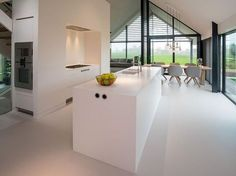 model home decor Casa Loft, Interior Minimalista, Minimalist Kitchen, Cuisines Design, Küchen Design, Interior Design Kitchen, Home Kitchens, Interior Architecture, Sweet Home