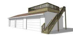 garage deck - Google Search
