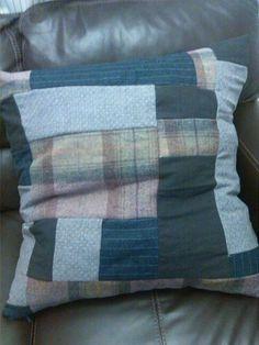 Patchwork floor cushion