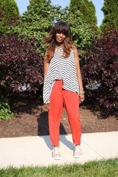 How UK Girls Wear Our Easy Pleat Pant