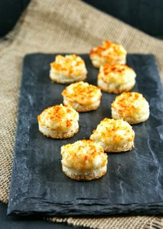 Authentic Suburban Gourmet: Parmesan Onion Canapés | Friday Night Bites
