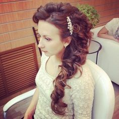 Lush Long Hair | source http curly hairstyles net lush long hairstyle with curls php