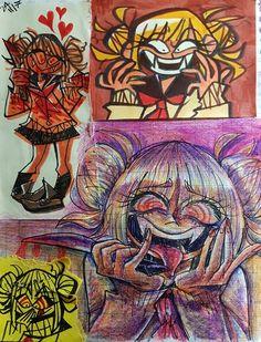 Cute Art Styles, Cartoon Art Styles, Art Drawings Sketches, Cool Drawings, Wow Art, Kawaii Art, Art Reference Poses, Pretty Art, Art Plastique