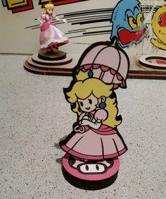 Custom Paper Mario Amiibo by SuperAmiigos - Princess Peach