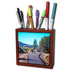 Vehicles driving down the Blvd. in Utah Tile Pen Holder is great on a desk or counter top. Made of high quality solid wood with a satin finish. Image displayed on one inset high gloss x ceramic tile. Overall size is x x 1 with 1 top holes. Buy Tile, Desk Clock, Light Switch Covers, Pen Holders, High Gloss, Utah, Counter Top, Satin Finish, Shrubs