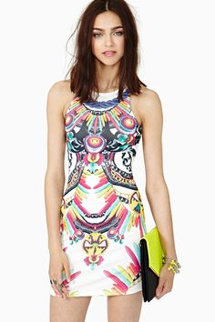 Fun! Lavish Dress in What's New at Nasty Gal