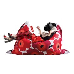 Have to have it. 6-Foot Fatboy Marimekko Unikko Extra Large Bean Bag Chair $329.99