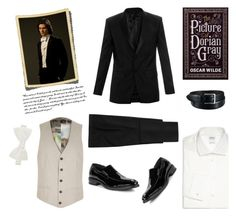 """""""The Picture of Dorian Gray"""" by oliverab ❤ liked on Polyvore featuring Givenchy, Duchamp, Armani Collezioni, Cole Haan, River Island, Uniqlo, men's fashion and menswear"""