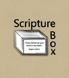 Scripture Box memorization app using rotational memorization method from Simply Charlotte Mason.