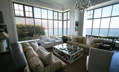 P10708 Clifton Houses, South African Art, Wall Spaces, Seaside, Backdrops, Home And Family, Couch, Furniture, Home Decor