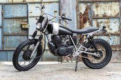 Lsr Bikes: Yamaha SR 250 Street Tracker by Corb Motorcycles