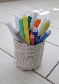 η ανακύκλωση στην πράξη, μέσα στην τάξη του νηπιαγωγείου