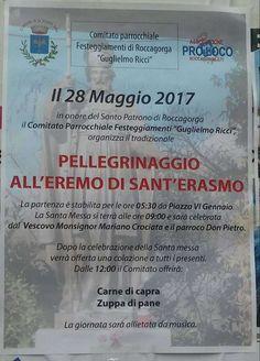 Pellegrinaggio All' Eremo di Sant'Erasmo  - Roccagorga