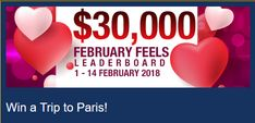 $30,000 February Feels Competition At Grand Eagle Casino!