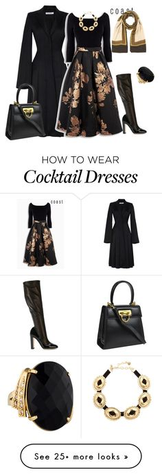 """outfit 2792"" by natalyag on Polyvore featuring J.W. Anderson, Salvatore Ferragamo, Dolce&Gabbana, Versace and Vanessa Mooney"
