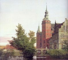 Christen Kobke Frederiksborg Castle Seen from the Northwest - Christen Kobke, painting Authorized official website