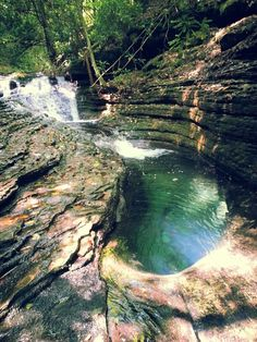 The Devil's Bathtub, Scott County, Virginia