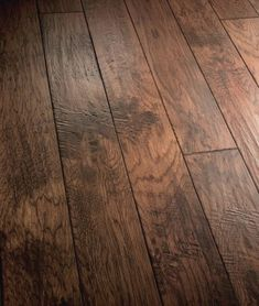 Agrigento Hardwood Flooring by Bella Cera Hardwoods. Gorgeous handscraped engineered hickory hardwoods with 4 different col . Types Of Wood Flooring, Oak Laminate Flooring, Engineered Hardwood Flooring, Plank Flooring, Wooden Flooring, Flooring Ideas, Easy Flooring, Wood Floor Texture, Hardwood Floor Colors