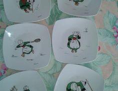 BECASSINE PEINTURE SUR PORCELAINE                                                                                                                                                                                 Plus Decorative Plates, Country, Diy, Images, Porcelain Ceramics, Painted Porcelain, China Painting, Pottery, Dinner Plates