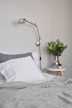 Makuuhuone, sisustus, Bedroom, Interior