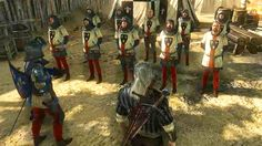 The Witcher 2 : Assassin of Kings - King's Foltest of Temeria soldiers