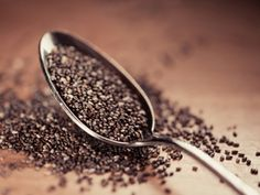 """CHIA SEEDS The chia plant is """"a petite nutrient-packed powerhouse"""", rich in fiber, protein, and the highest plant source of Omega 3's. There is evidence that the Aztecs used the seeds as early as 3,500 B.C."""