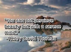 Quote about beauty Henry David Thoreau