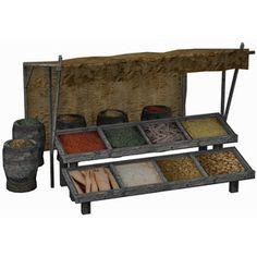 MedievalMarketSpiceStall