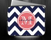 MacBook Air/Pro Sleeve, Ipad Sleeve, Laptop Computer Sleeve, E-Reader case, Personalized & Monogrammed